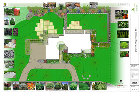 Green By Nature Landscape Plan